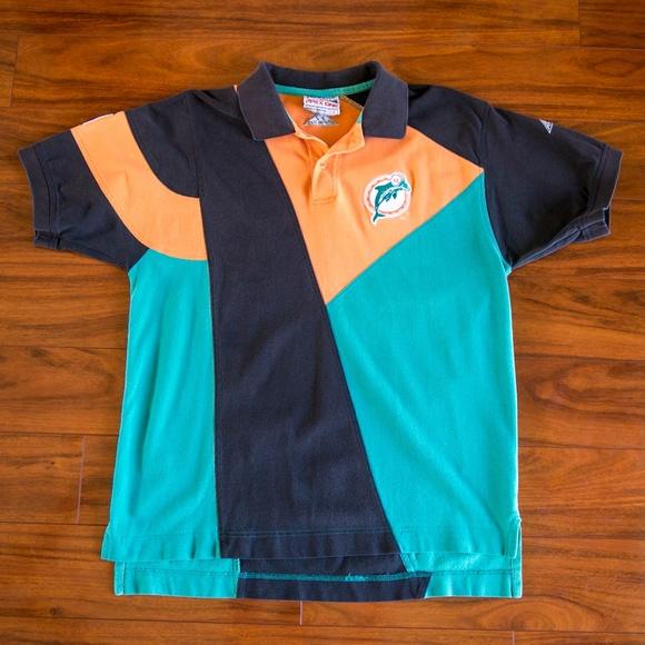 b17c1a51f Vintage NFL Pro Line Miami Dolphins Polo Shirt. M 5b9d47cfc2e9fefd16dfd399